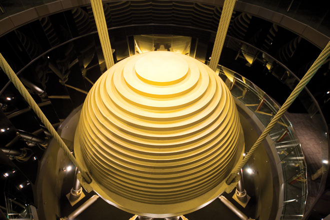 Tuned Mass Damper Photo
