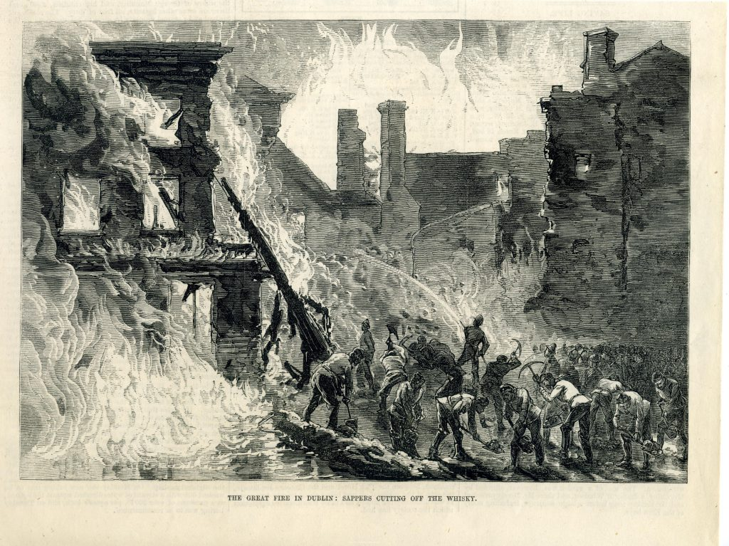 1875 Dublin Whisky Fire